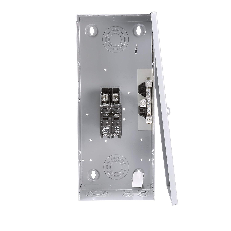 Siemens E0202MB1100 125-Amp Indoor Circuit Breaker Enclosure Surface mount Siemens HI