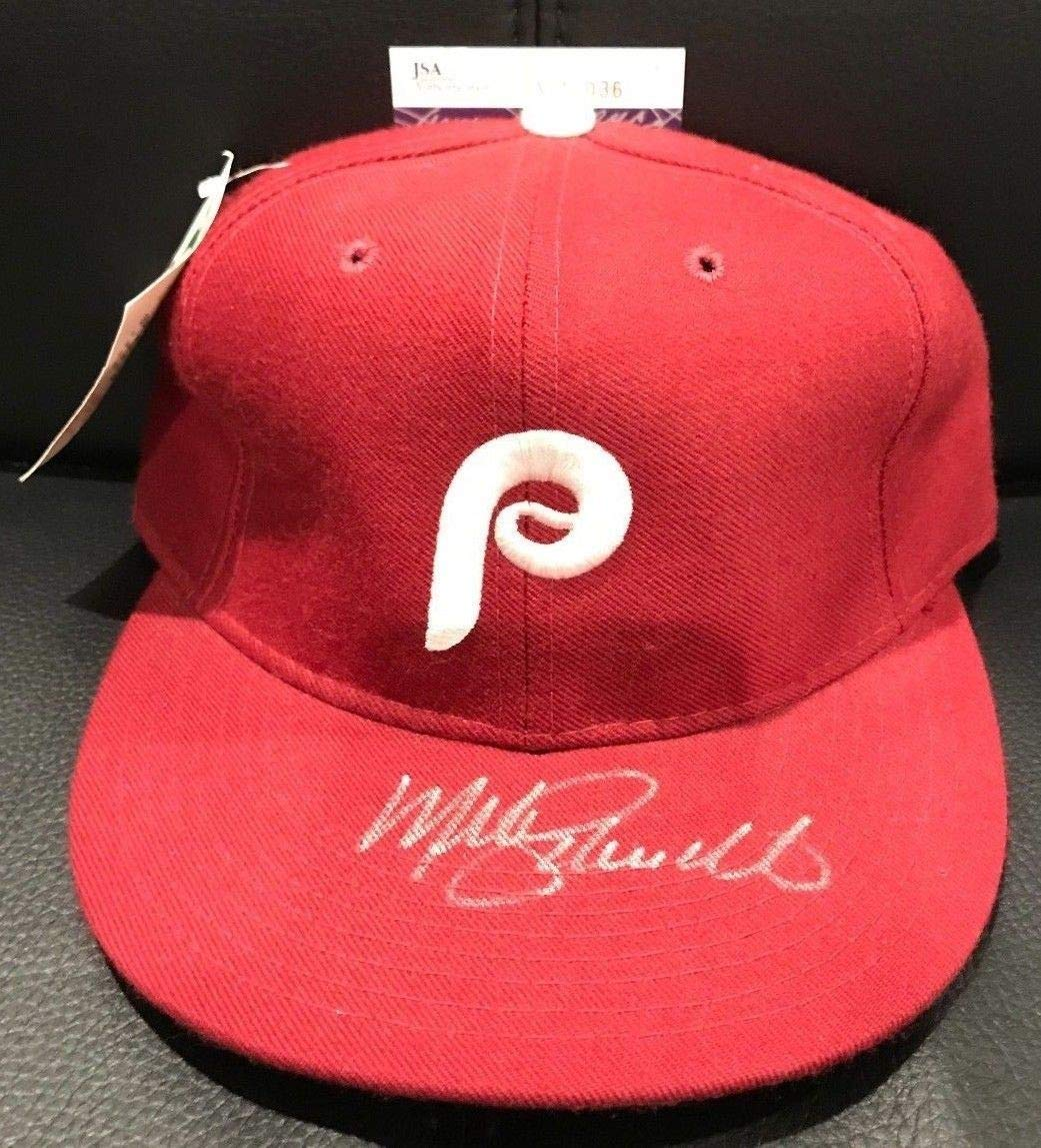 Mike Schmidt Autographed Signed Philadelphia Phillies Hat New Era Diamond JSA Authentication