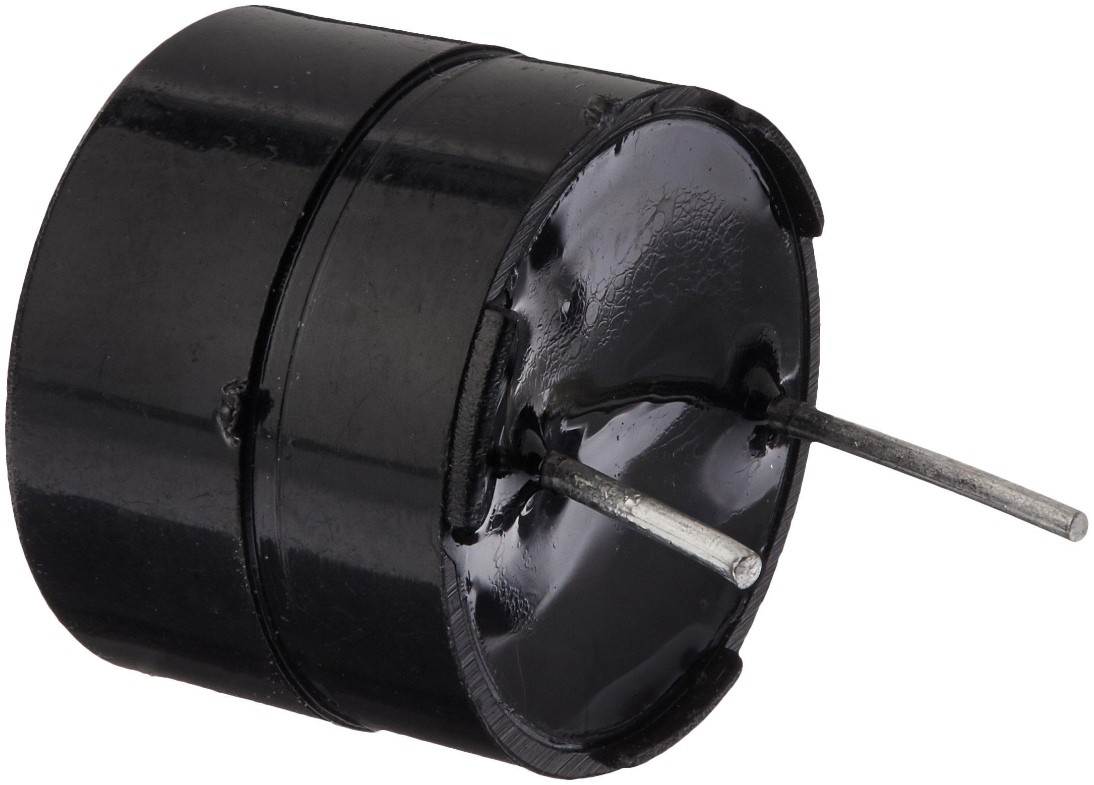 Uxcell a12081600ux0477 12 mm Diameter 5 Piece DC 5V 2 Terminals Electronic Continuous Sound Buzzer