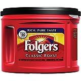 Folgers Classic Roast Ground Coffee, Medium-Roast, 22.6 Ounce (Pack of 6)