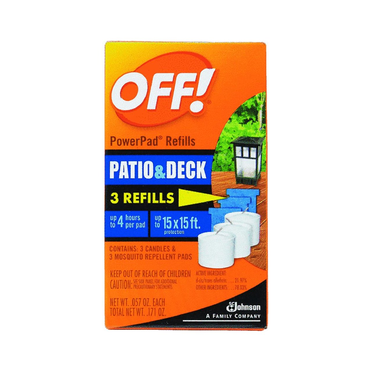 Amazon.com: OFF! Lamp/Lantern Refill 3 Units: Health & Personal Care