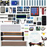 REXQualis Upgraded Complete Starter Kit for Raspberry Pi 4 B 3 B+ with Detailed Tutorials, Support Python C,Learn Electronics