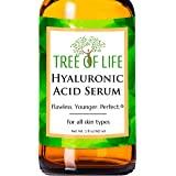 Hyaluronic Acid Serum for Face - DOUBLE SIZE (2oz) Hyaluronic Acid Moisturizer for Skin