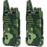 Rechargeable Walkie Talkies Long Range Two Way Radios for Adults - Portable 2 Way Radio 16 Channels Walky Talky - Channel Loc