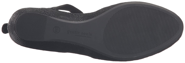 Gentle Souls Women's Noa Flat B01CH4MM8Y 8 B(M) US|Black