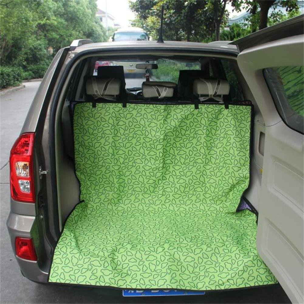 Green Gtopart Cargo cover for dogs,Fits Most Cars, SUV, Vans & Trucks,Large Size 57 Lx47 W, Waterproof, Durable, Non Slip (Green)