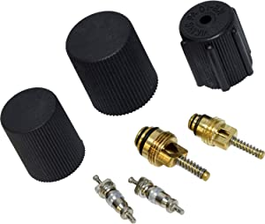 Universal Air Conditioner VC 2905C A/C System Valve Core and Cap Kit