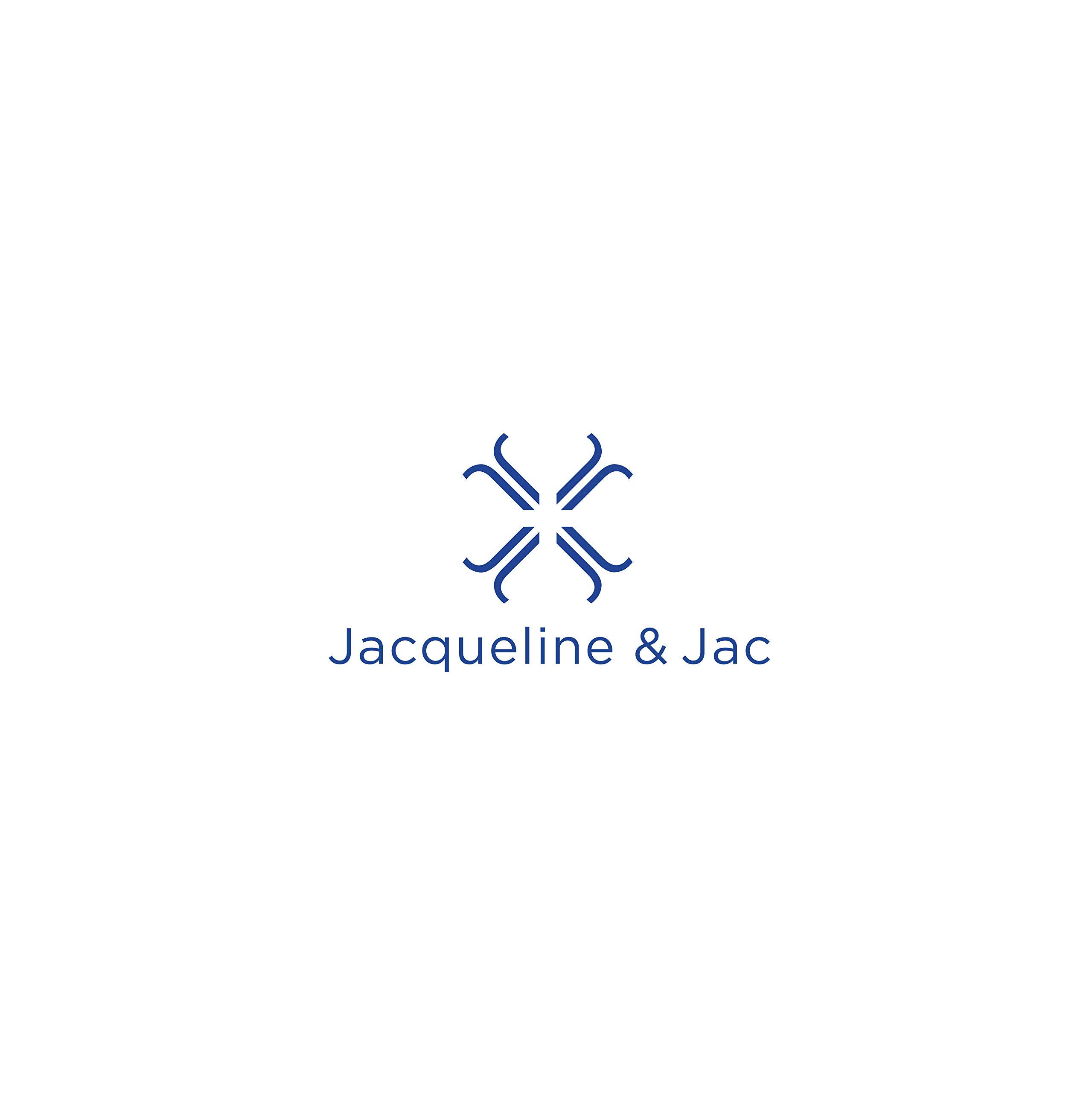 Jacqueline & Jac Newborn Baby Beanie Hat- Natural Cotton Blend. Ideal Unisex Gift for Baby Girl and Boy (Blush, Medium (1-4 Years)) by Jacqueline & Jac