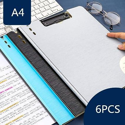 Archivador 4 anillas Carpeta de oficina Tablero de escritura Capa de estudiante Clip de rollo de estudiante Rollo horizontal A3 Papel de prueba Caja de papelería Bolsa de almacenamiento Clip de libro: