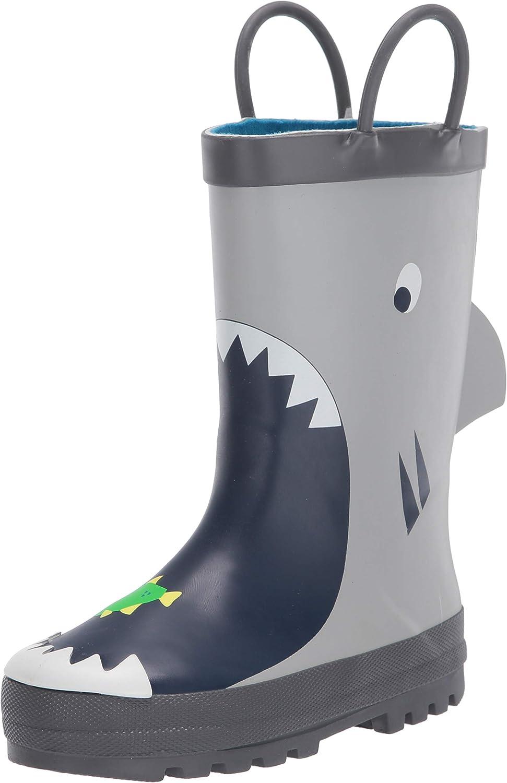 Carter's Kids' Well Pull-on Rainboot Rain Boot