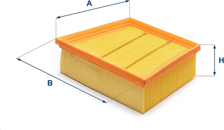 UFI Filters 30.A52.00 Filtro Aria Motore per Auto