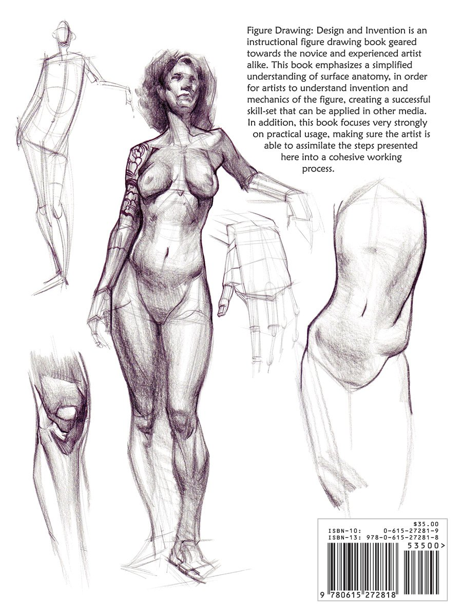 Figure Drawing: Design and Invention: Michael Hampton: 9780615272818 ...