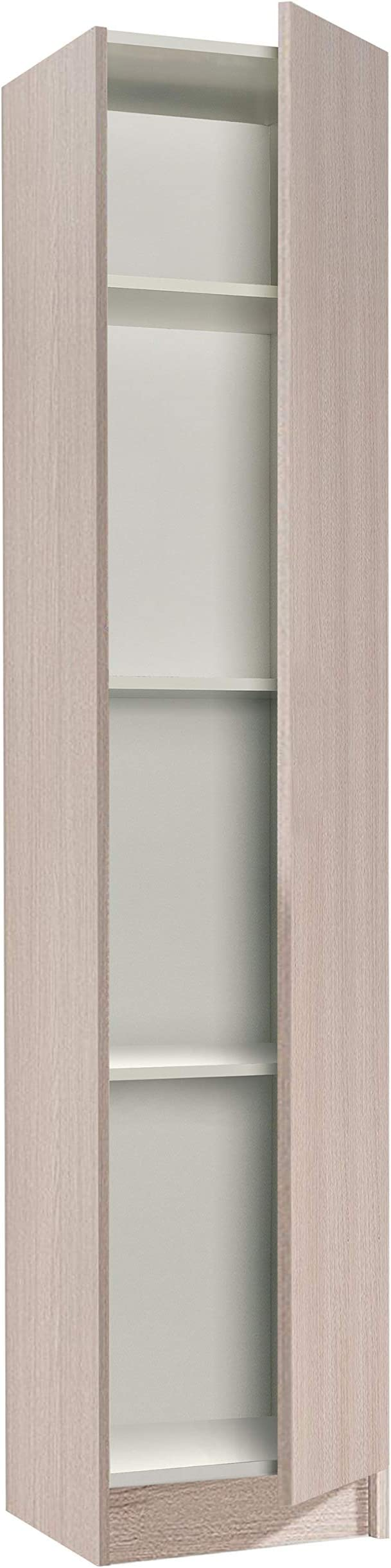 Habitdesign 007141R - Mueble Armario Multiusos 1 Puerta, Color ...