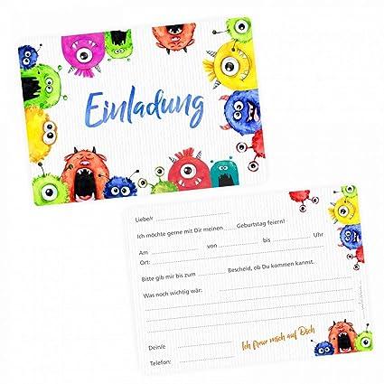 Invitaciones para cumpleaños infantiles (5 unidades), diseño ...
