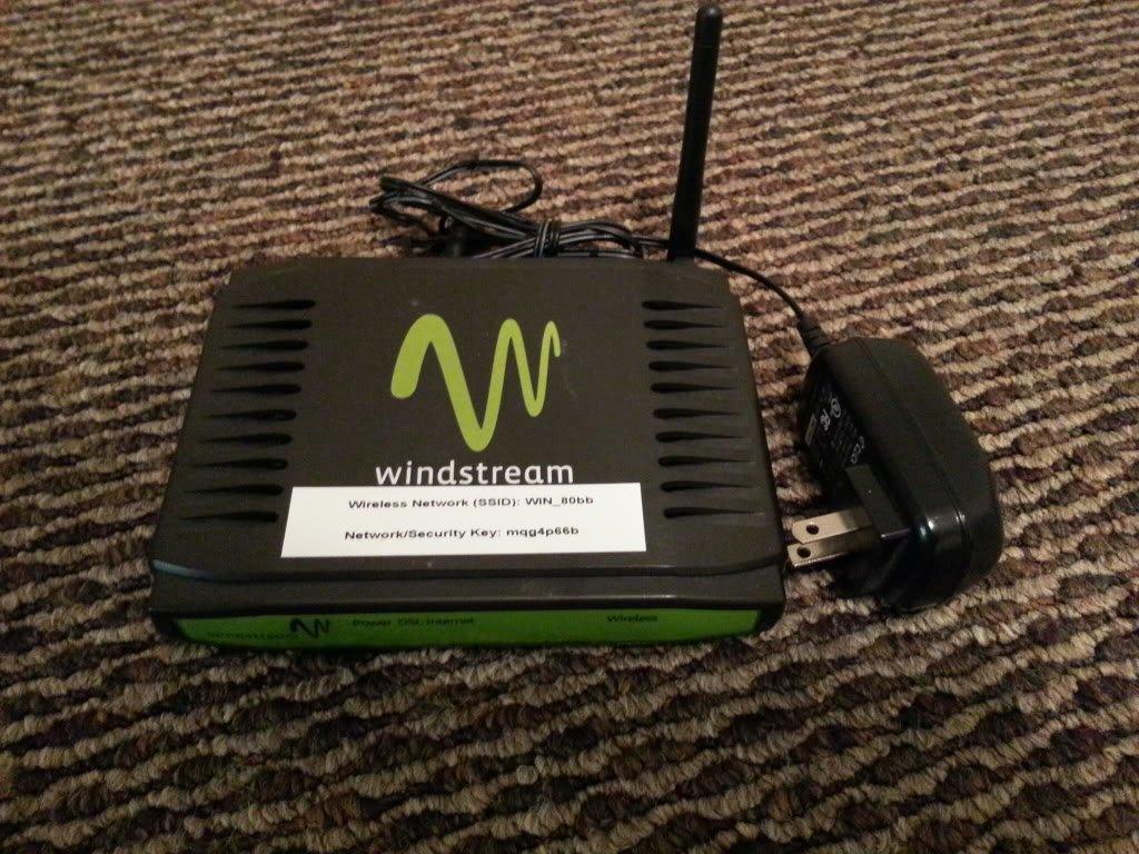 Amazon.com: Windstream Sagemcom 1704 F@st DSL ADSL2 Wi-Fi Wireless Router/ Modem: Computers & Accessories