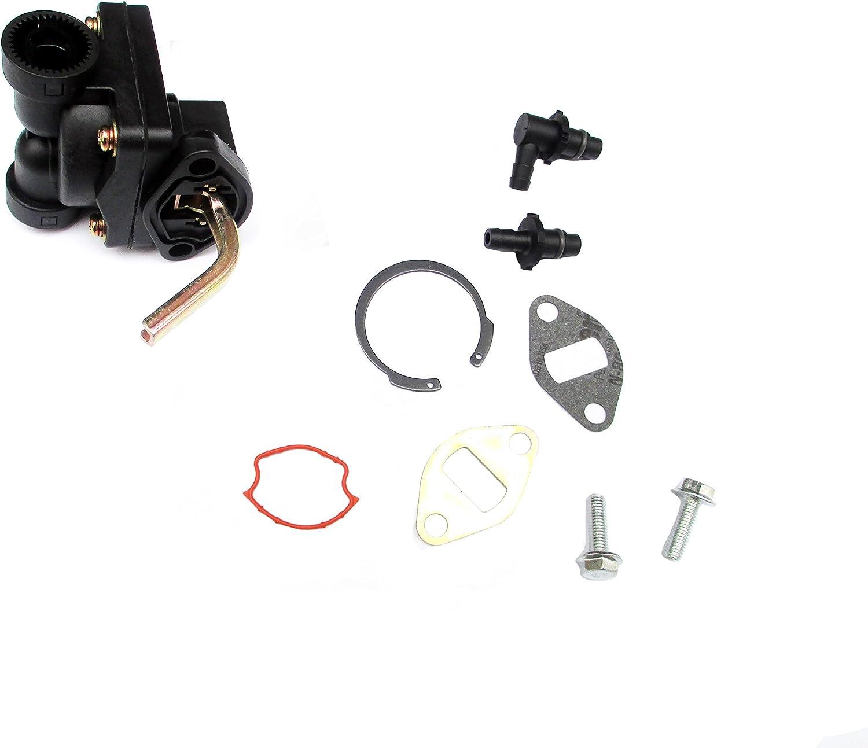 The Fuel Pump fits KOHLER 12 559 02-S 12 559 01-S 12 393 03 CH CV 11-16 HP Motor