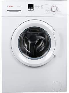 Bosch 6 kg Fully Automatic Front Loading Washing Machine  WAB16161IN, White  Washing Machines   Dryers