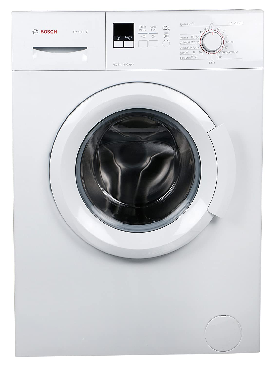 Bosch 6 Kg Fully Automatic Front Loading Washing Machine Wab16161in Classixx Wiring Diagram White Home Kitchen