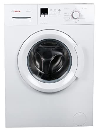 Bosch 6 kg Fully-Automatic Front Loading Washing Machine (WAB16161IN, White)