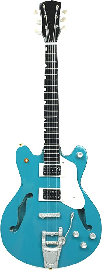Guitarra en miniatura decorativa de guitarra Gibson, 24 cm, color ...