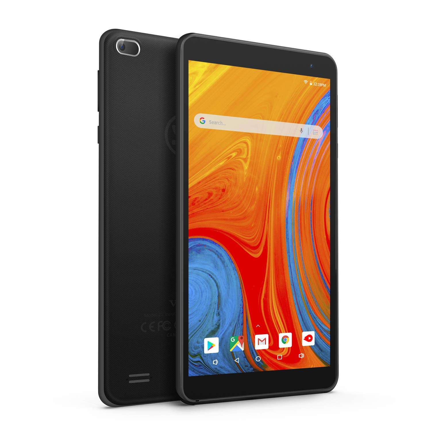 Vankyo MatrixPad Z1 7 inch Tablet, Android 8.1 Oreo Go Edition, 32GB Storage, Quad-Core Processor, IPS HD Display, Wi-Fi, Bluetooth, Black