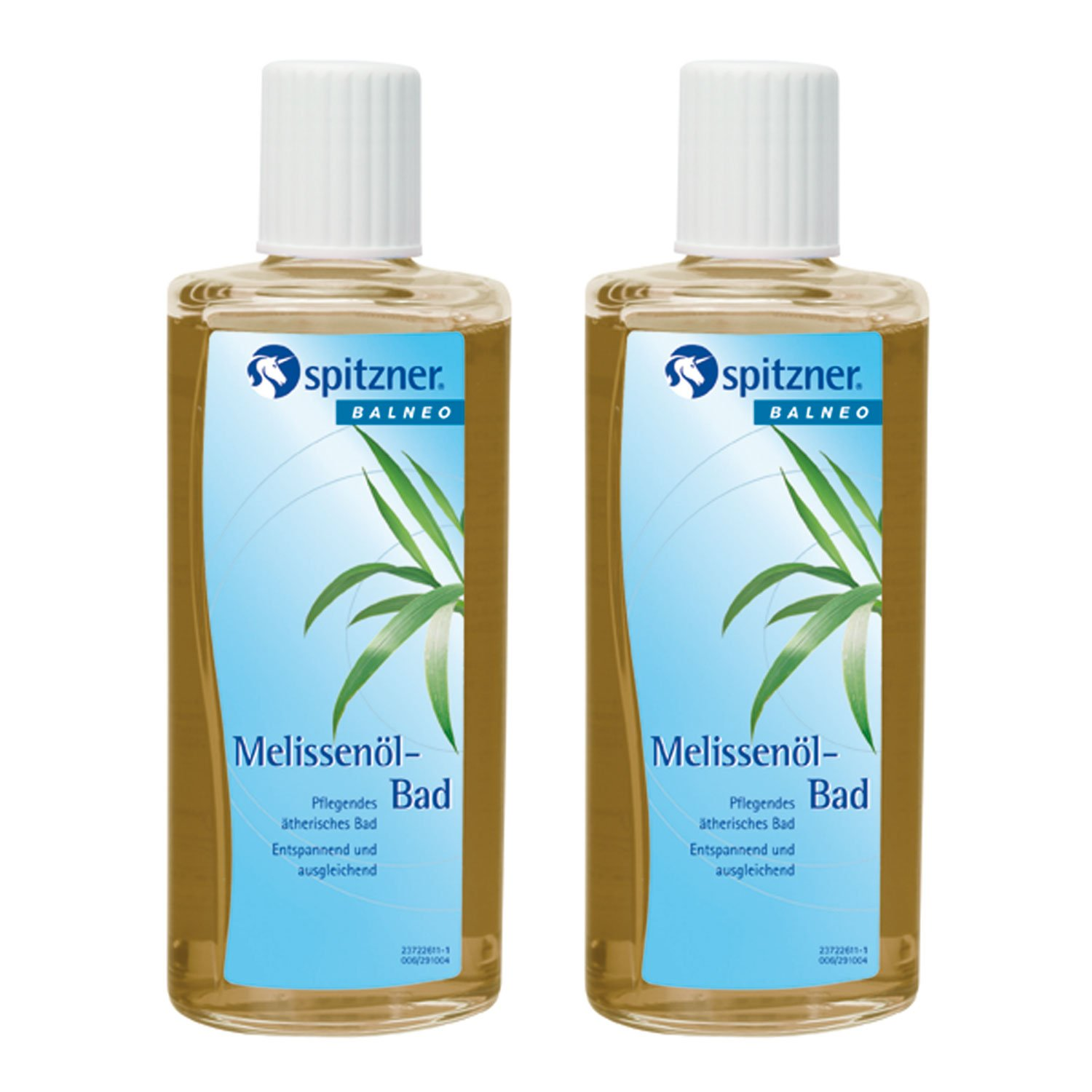 Melissa Oil Bath Soak (2 x 190 ml) from Spitzner