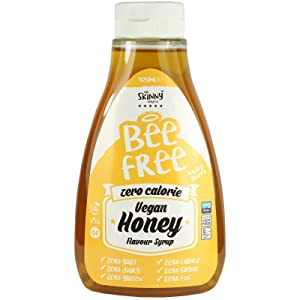Skinny Foods Bee Free Vegan Honey Flavoured Syrup Zero Calories 425ml