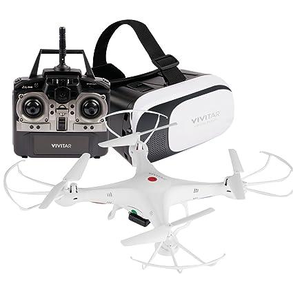 Vivitar DRC-125 Wi-Fi Camera Quadcopter Drone with VR Headset