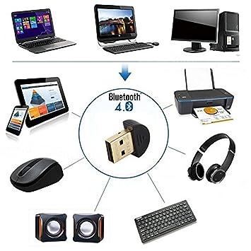 4,0 adaptador USB Bluetooth Kemket para PC/para portátil, Bluetooth transmisor y
