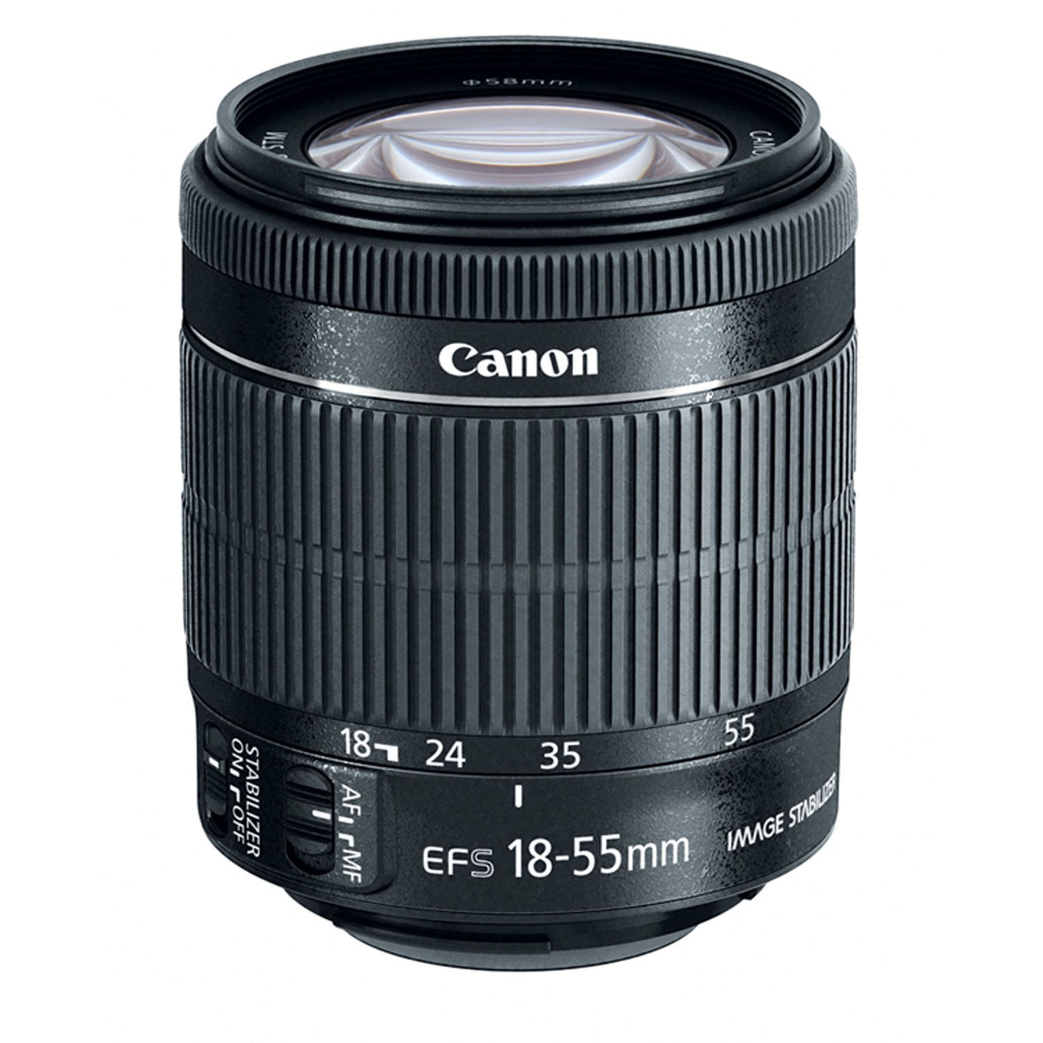 Canon EF-S 18-55mm f/3.5-5.6 IS STM Zoom Lens (Bulk Packaging) by Canon
