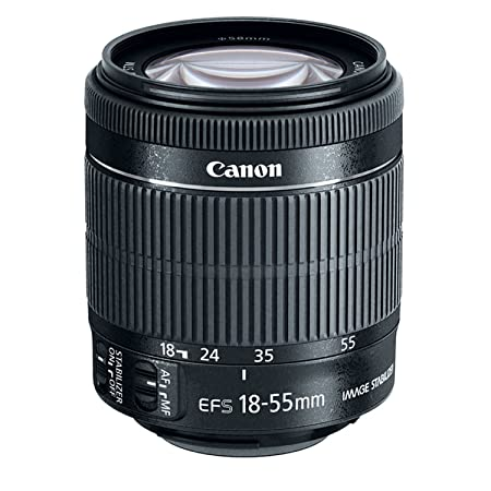 Canon EF-S 8114B002 18-55mm IS STM Bulk Packaging Camera Lenses at amazon