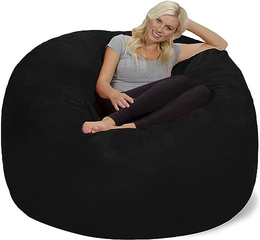 Amazon.com: Silla tumbona gigante de 6pies, muebles de ...