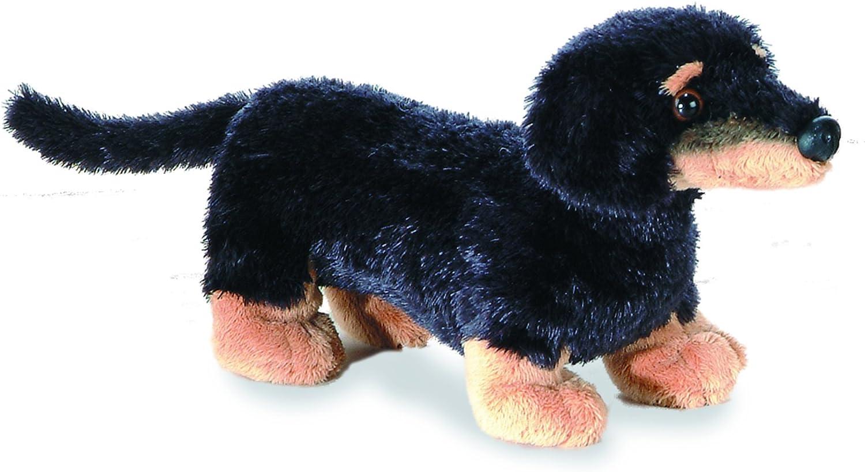 "Aurora 12/"" Sausage Too Dachschund Plush Stuffed Animal Toy #31410 Brand New"