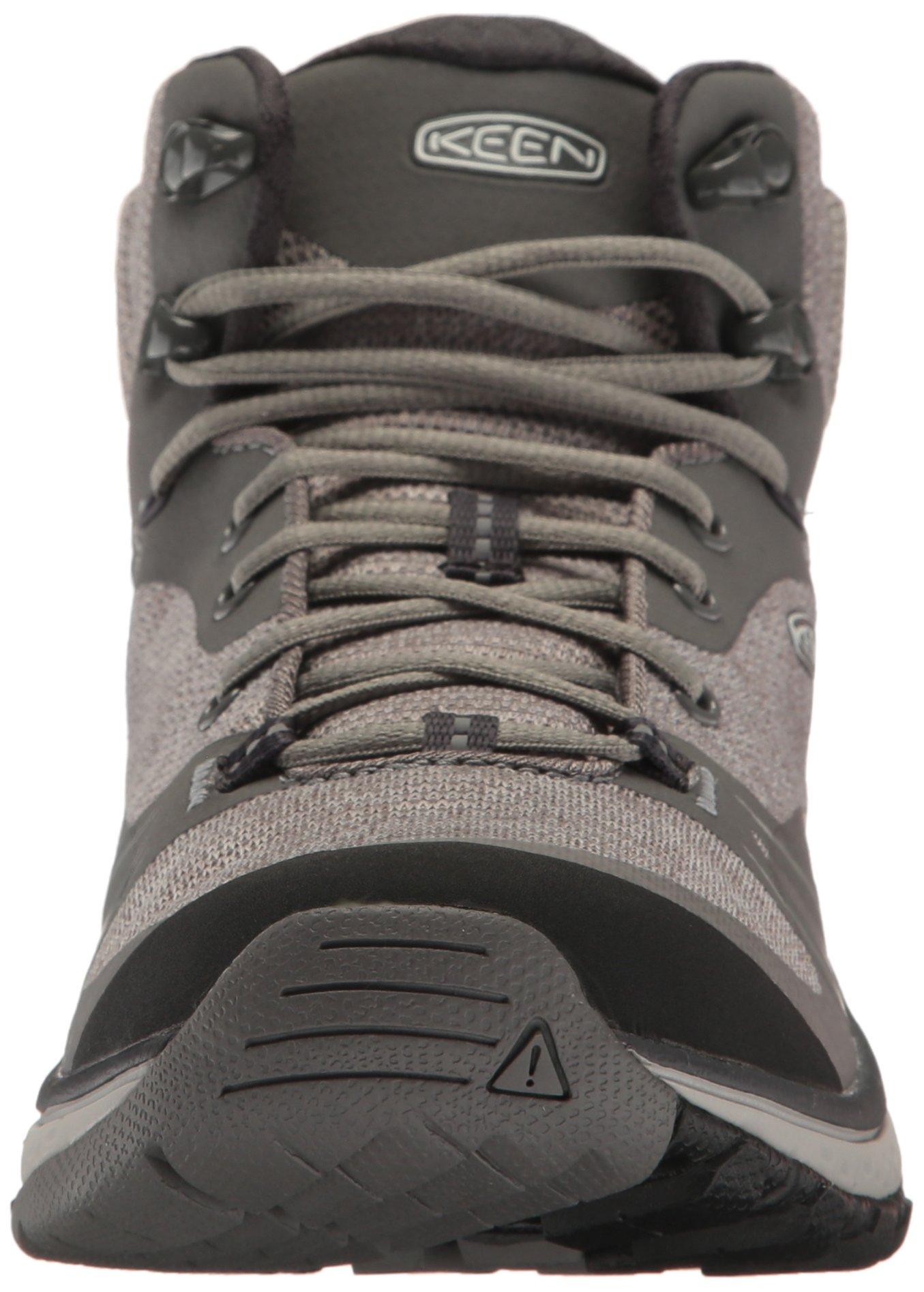 KEEN Women's Terradora Mid Waterproof Hiking Shoe, Gargoyle/Magnet, 9 M US by KEEN (Image #4)