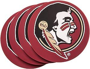 Florida State Seminoles 4-Pack NCAA PVC Coaster