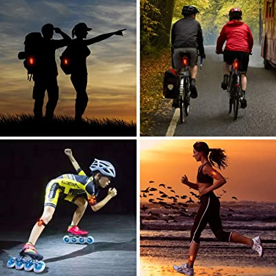 LED Reflective arm band gym exercise cycling jogging-UK STOCK