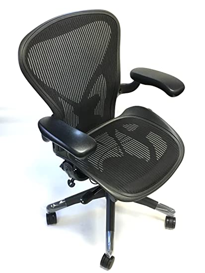 amazon com herman miller aeron chair size b fully loaded posture