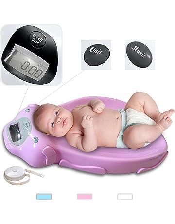 Todeco - Escala De Bebé, Balanza Eléctrica Para Bebés - tamaño: 65,4