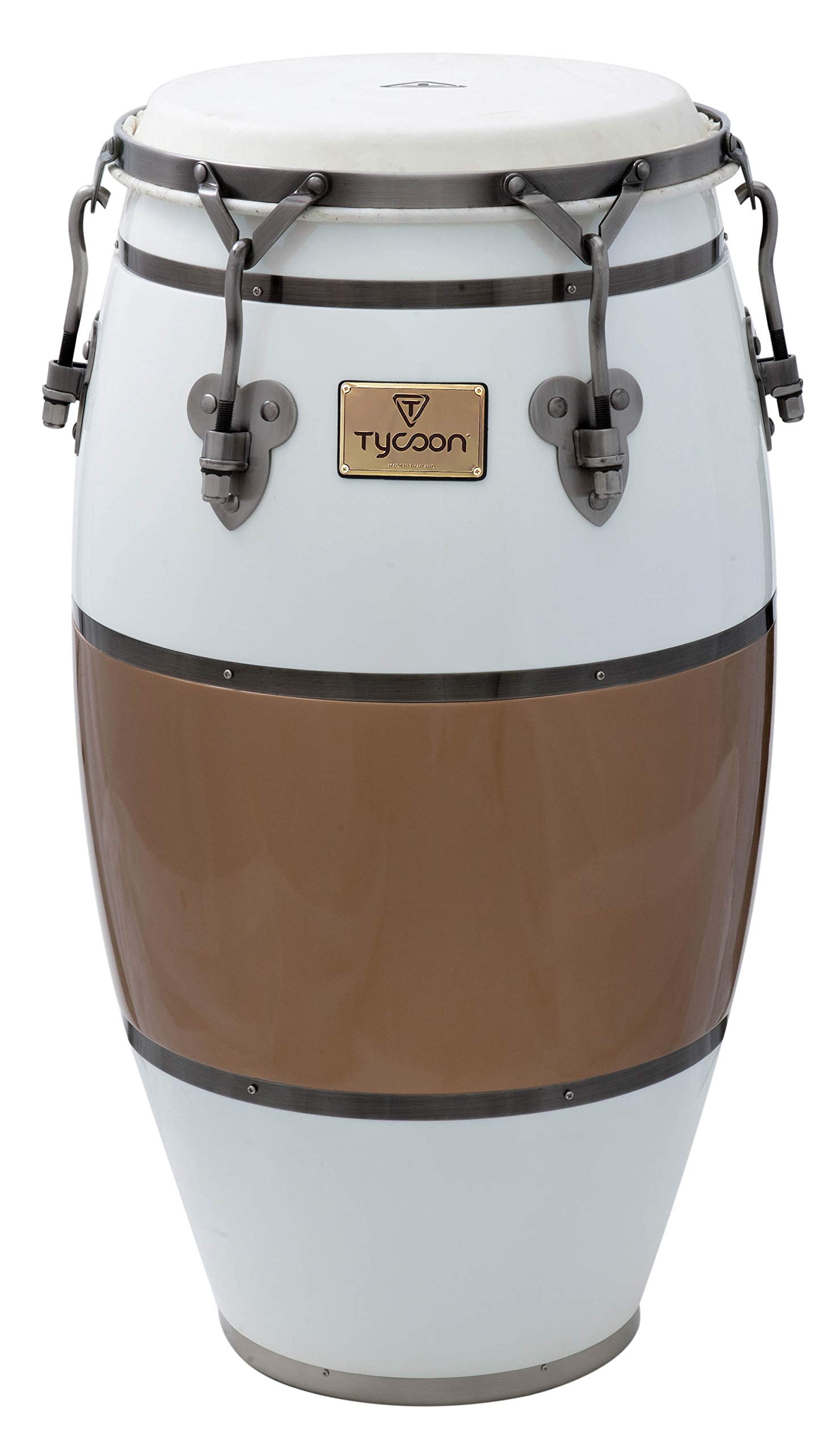 Tycoon Percussion TSCHBC120CCL Signature Heritage Cafe Con Leche Series Conga 11 3/4
