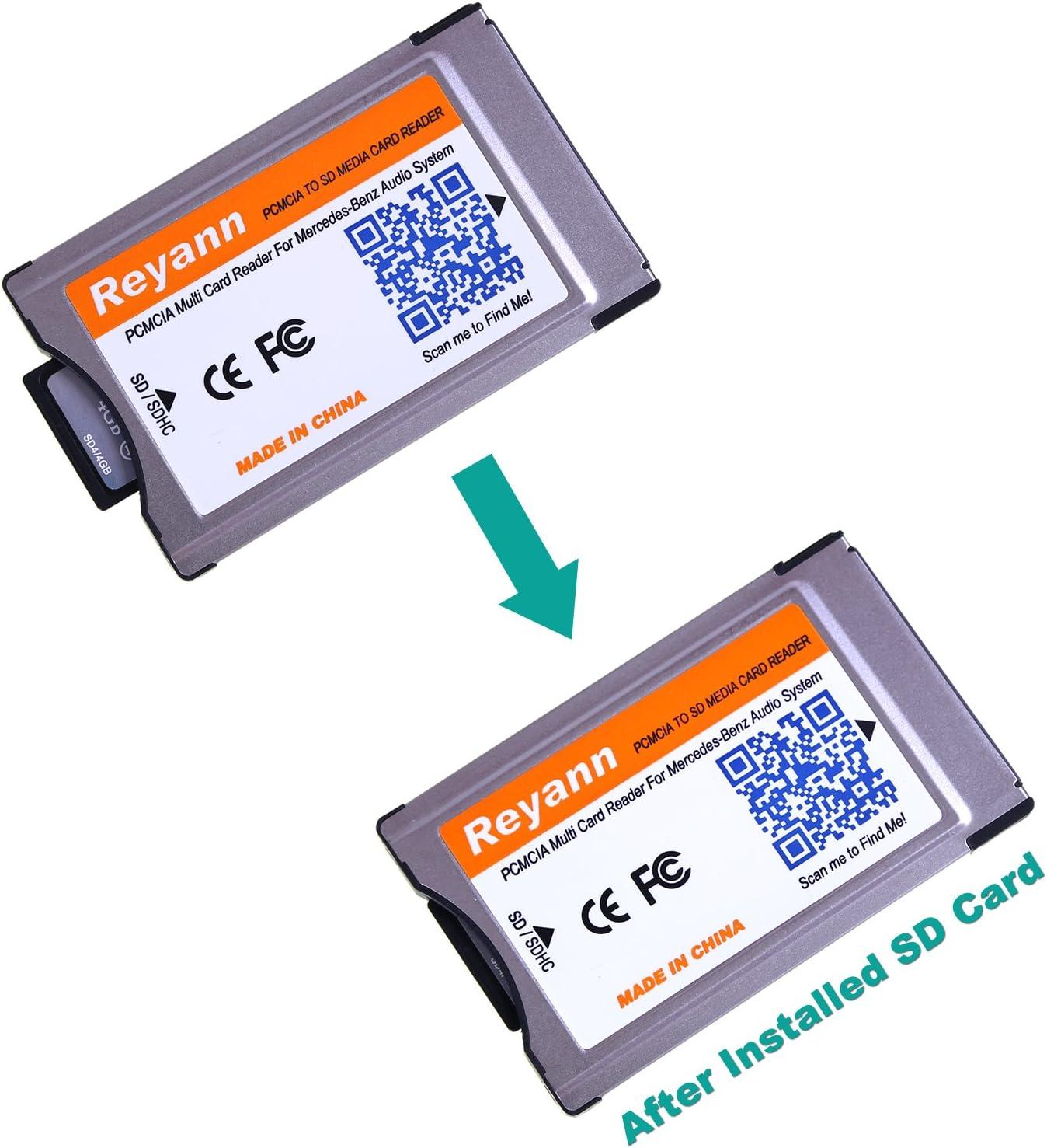 Amazon.com: hikig PCMCIA convertir adaptador de tarjetas SD ...