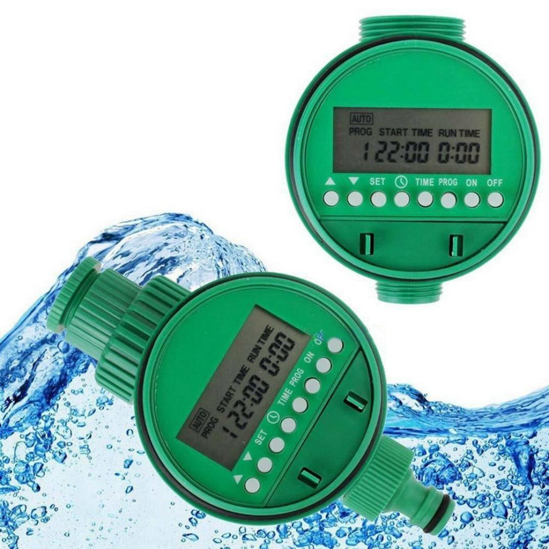 1PC Home Water Timer Garden Irrigation Timer Controller Set Water Programs BO Zolimx