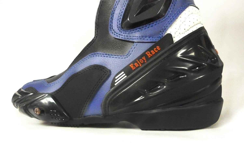 Nero Blu,39//5 XTRM BLADE NUOVI STIVALI MOTO QUAD BIKE ARMOURED Sport Impermeable Racing Sportivi stivale