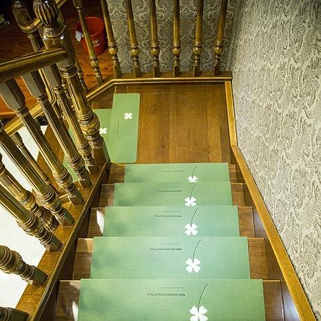 LJXiioo Peldaños de escaleras Antideslizantes Alfombras Esteras para escaleras Revestimiento Interior Adhesivo con Luces de Noche Decoración para el hogar,3pcs,55 * 22 * 4.5cm: Amazon.es: Deportes y aire libre