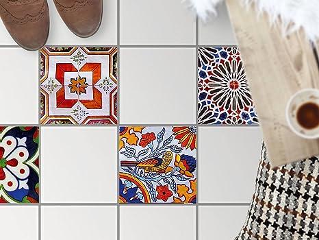 Pellicola di plastica adesiva sticker decorativo per piastrelle