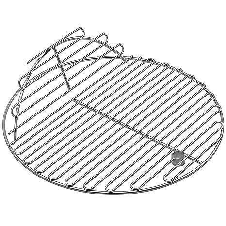 Las rejillas de cocinar redondas del acero inoxidable del ...