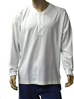 product image for Sovereign Manufacturing Co Men's Big and Tall Long Sleeve Henley