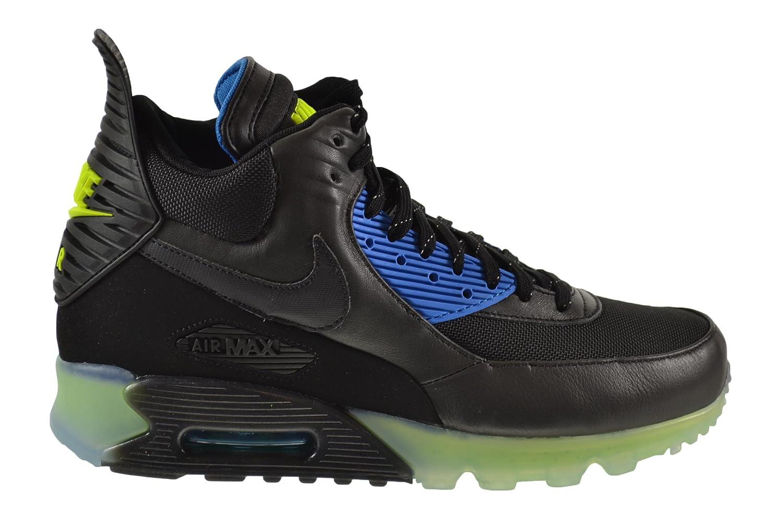 Nike Air Max 90 Ice Men's Sneaker Boots Black/Black-Dark Ash-Photo Blue 684722-001