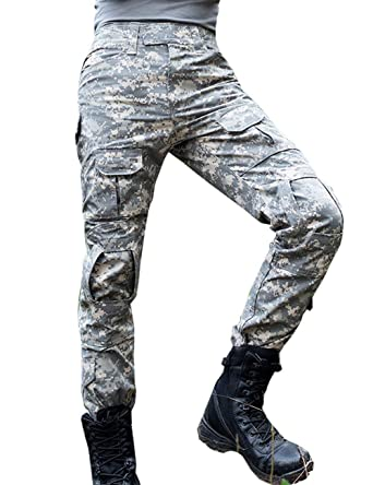 Lannister Fashion Pantalones para Hombres Militar con Bolsillos ...