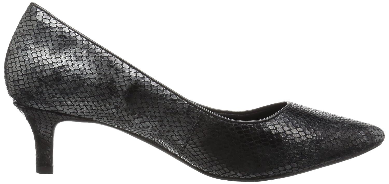 Rockport Women's Total Motion Kalila Dress Pump B01ABRZUW4 5 W US Black/Multi Snake