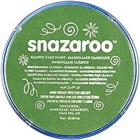 Snazaroo Face Paint 18ml color individual, Verde césped, Pequeño, 1